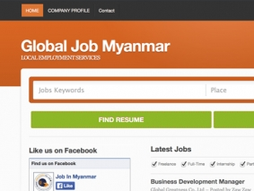 Global job myanmar
